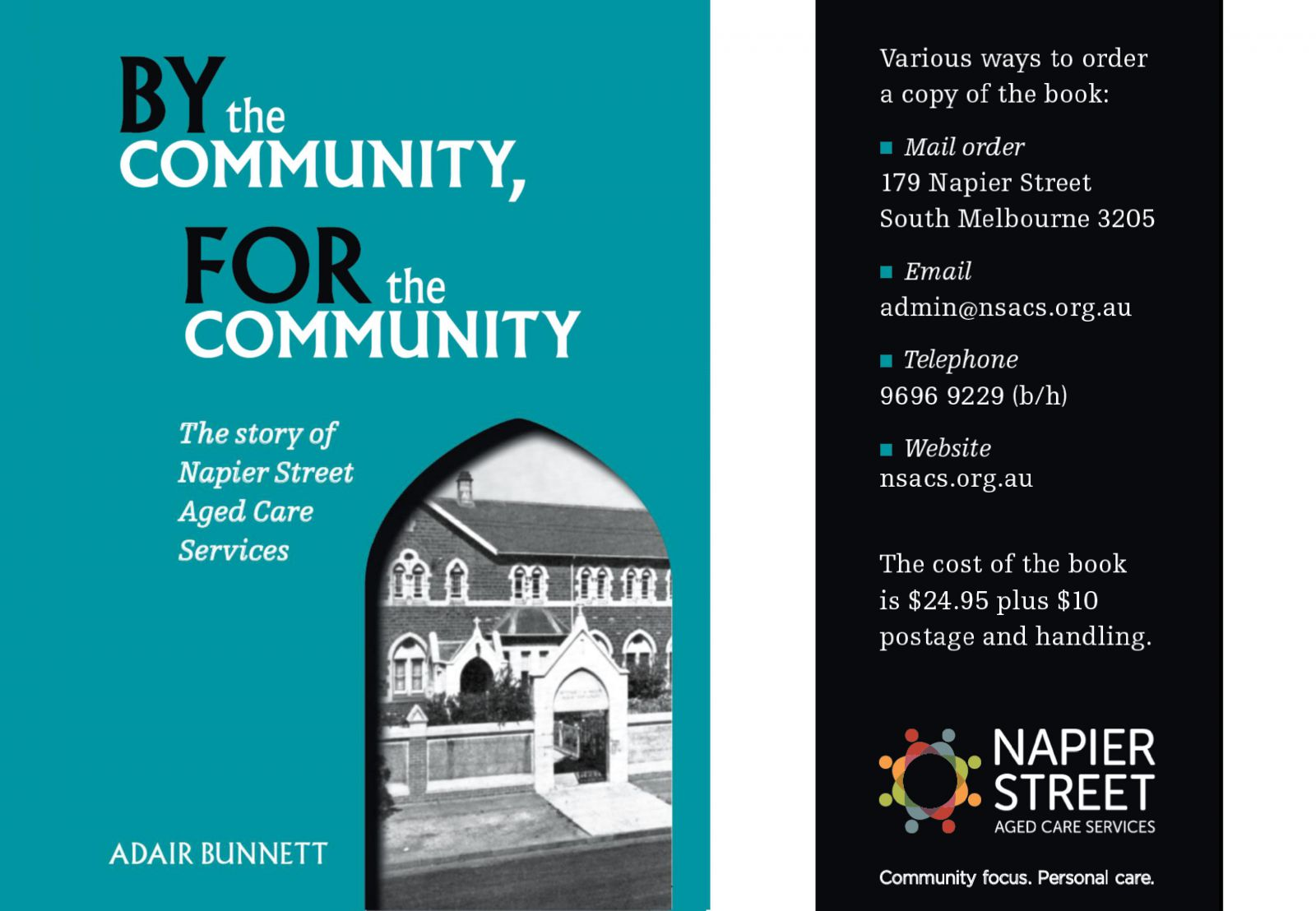 article Celebrating 25 Years of Napier Street Aged Care Services